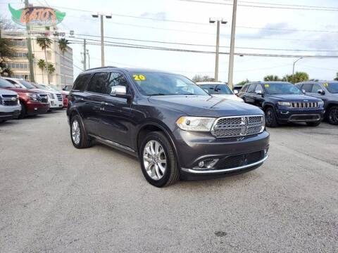 2020 Dodge Durango for sale at GATOR'S IMPORT SUPERSTORE in Melbourne FL