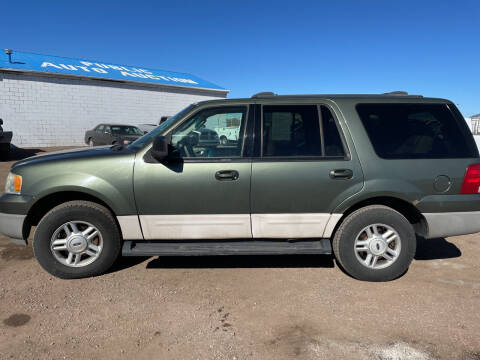 2003 Ford Expedition for sale at PYRAMID MOTORS - Fountain Lot in Fountain CO