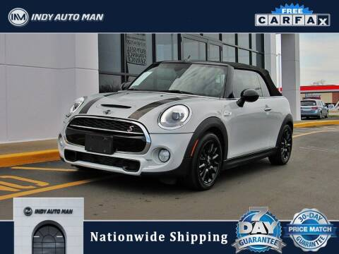 2017 MINI Convertible for sale at INDY AUTO MAN in Indianapolis IN