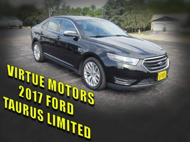 2017 Ford Taurus for sale at Virtue Motors in Darlington WI