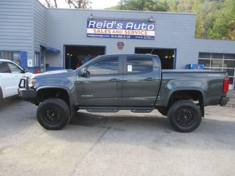 2017 Chevrolet Colorado for sale at Reid's Auto Sales & Service in Emporium PA