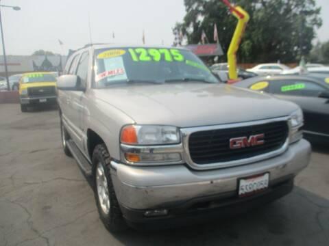 2006 GMC Yukon for sale at Quick Auto Sales in Modesto CA