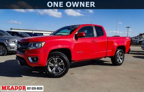 2016 Chevrolet Colorado for sale at Meador Dodge Chrysler Jeep RAM in Fort Worth TX