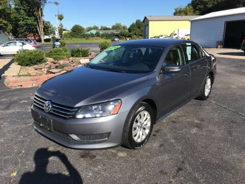 2014 Volkswagen Passat for sale at EXPO AUTO GROUP in Perry OH