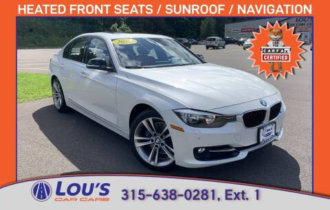 2015 BMW 3 Series for sale at LOU'S CAR CARE CENTER in Baldwinsville NY