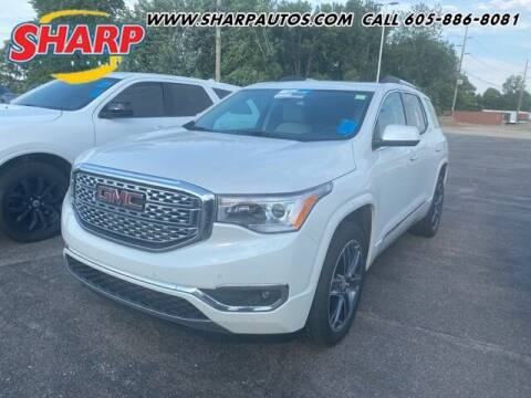 2018 GMC Acadia for sale at Sharp Automotive in Watertown SD