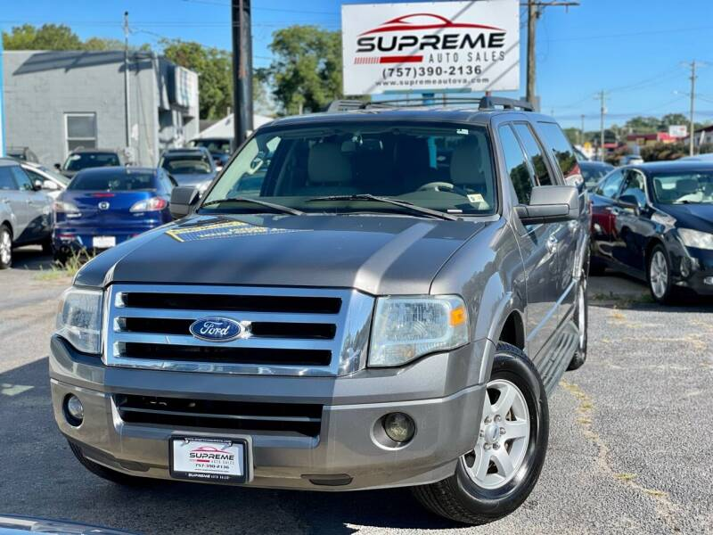 2010 Ford Expedition EL for sale at Supreme Auto Sales in Chesapeake VA