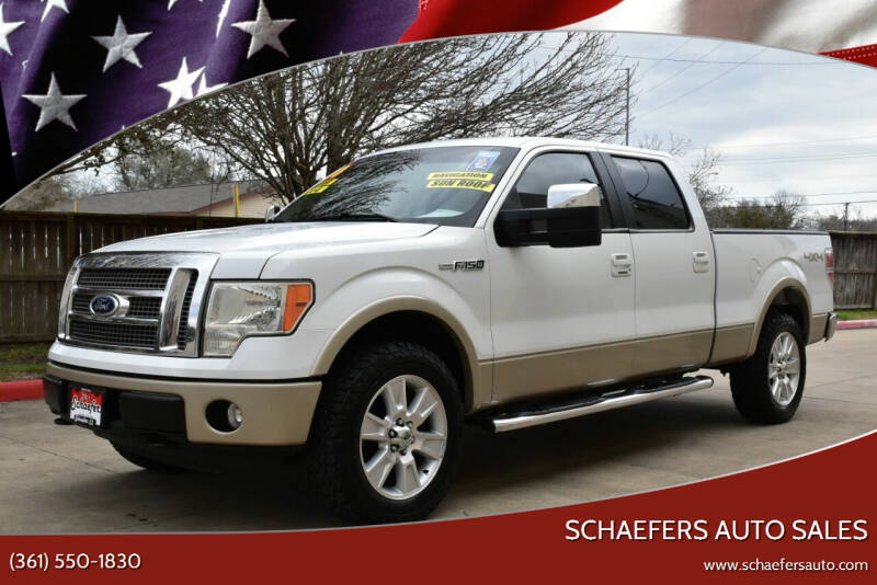 2010 Ford F-150 for sale at Schaefers Auto Sales in Victoria TX