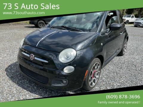 2012 FIAT 500 for sale at 73 S Auto Sales in Hammonton NJ