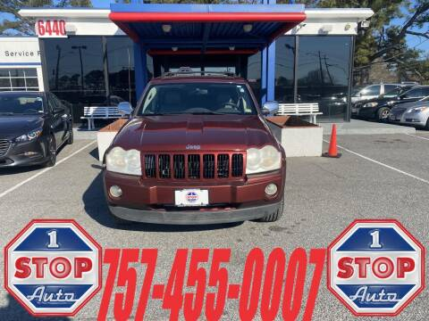 2007 Jeep Grand Cherokee for sale at 1 Stop Auto in Norfolk VA