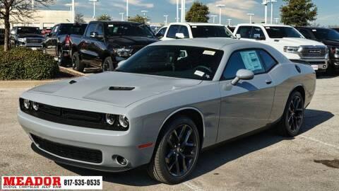 2021 Dodge Challenger for sale at Meador Dodge Chrysler Jeep RAM in Fort Worth TX