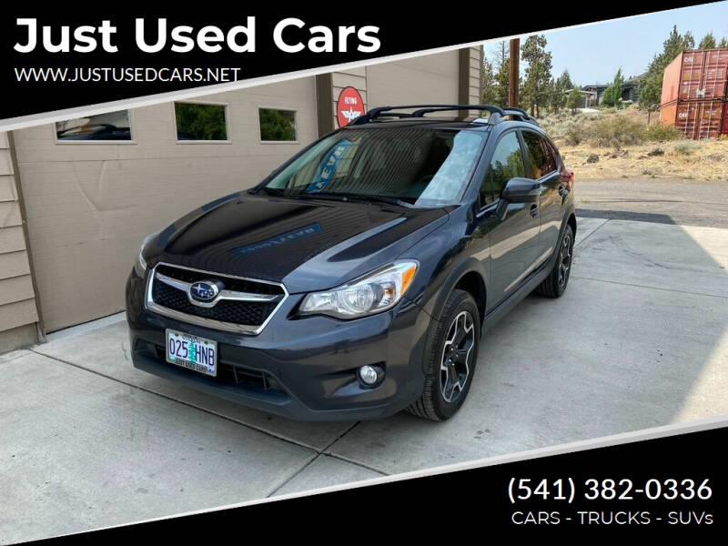 2015 Subaru XV Crosstrek for sale at Just Used Cars in Bend OR