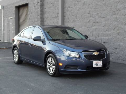 2013 Chevrolet Cruze for sale at Gilroy Motorsports in Gilroy CA