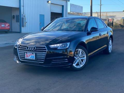2017 Audi A4 for sale at SUPER AUTO SALES STOCKTON in Stockton CA