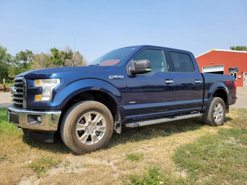 2017 Ford F-150 for sale at A & B Auto Sales in Ekalaka MT