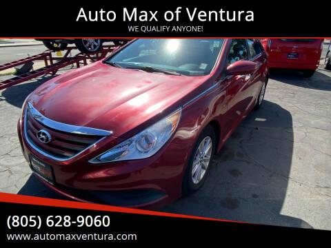 2014 Hyundai Sonata for sale at Auto Max of Ventura in Ventura CA