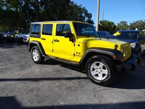 2008 Jeep Wrangler Unlimited for sale at DONNY MILLS AUTO SALES in Largo FL
