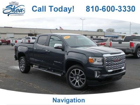 2021 GMC Canyon for sale at Erick's Used Car Factory in Flint MI