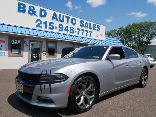 2016 Dodge Charger for sale at B & D Auto Sales Inc. in Fairless Hills PA
