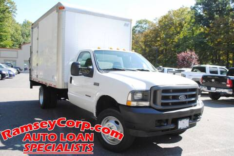 2004 Ford F-450 Super Duty for sale at Ramsey Corp. in West Milford NJ