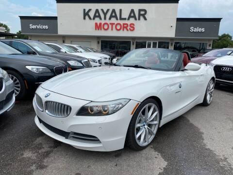 2012 BMW Z4 for sale at KAYALAR MOTORS in Houston TX