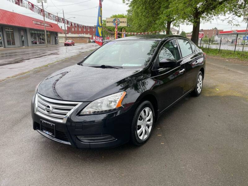 2014 Nissan Sentra for sale at Midtown Autoworld LLC in Herkimer NY
