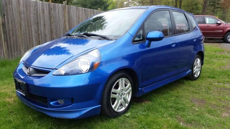 2008 Honda Fit for sale at ALL Motor Cars LTD in Tillson NY