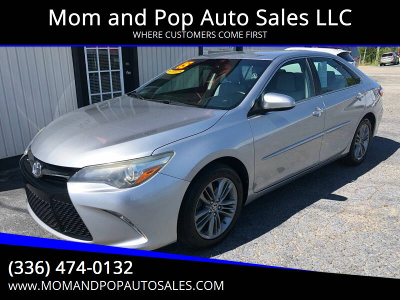 2015 Toyota Camry for sale at Mom and Pop Auto Sales LLC in Thomasville NC