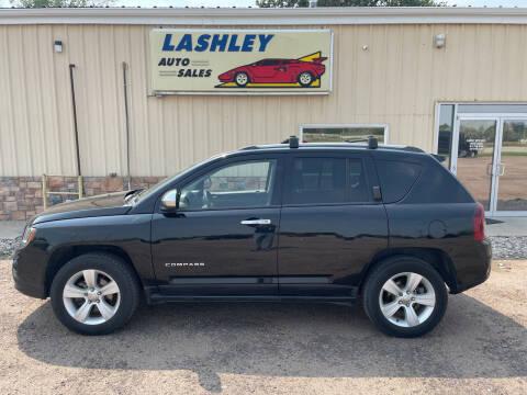 2016 Jeep Compass for sale at Lashley Auto Sales in Mitchell NE