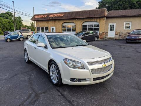2012 Chevrolet Malibu for sale at Worley Motors in Enola PA