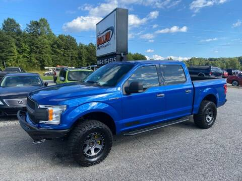 2018 Ford F-150 for sale at Billy Ballew Motorsports in Dawsonville GA