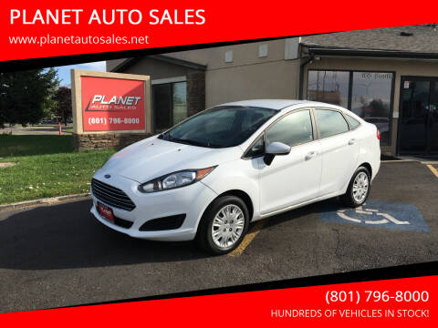 2019 Ford Fiesta for sale at PLANET AUTO SALES in Lindon UT