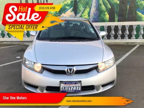 2010 Honda Civic for sale at Star One Motors in Hayward CA