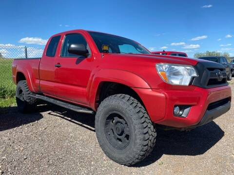 2012 Toyota Tacoma for sale at FAST LANE AUTOS in Spearfish SD
