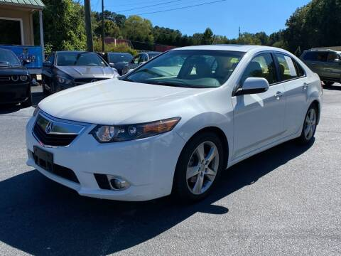 2013 Acura TSX for sale at Luxury Auto Innovations in Flowery Branch GA