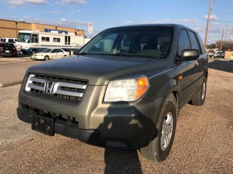 2007 Honda Pilot for sale at BJ International Auto LLC in Dallas TX