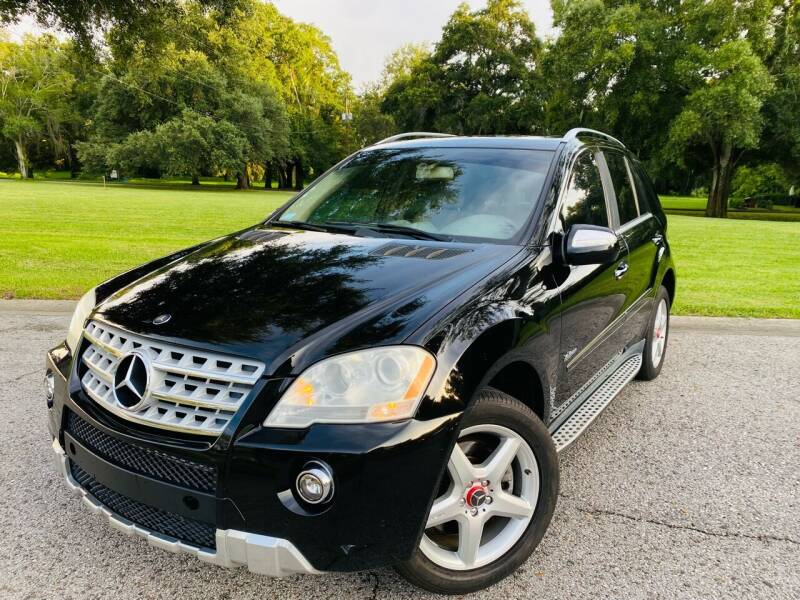 2009 Mercedes-Benz M-Class for sale at FLORIDA MIDO MOTORS INC in Tampa FL