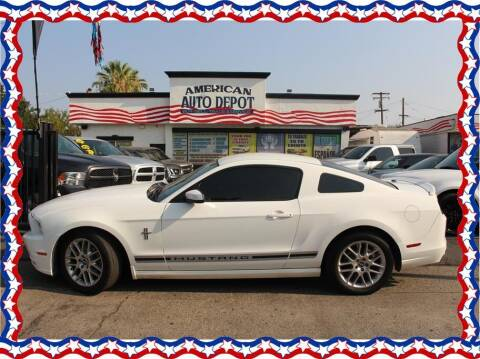 2013 Ford Mustang for sale at American Auto Depot in Modesto CA