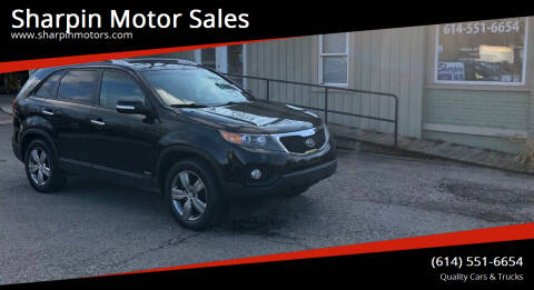 2013 Kia Sorento for sale at Sharpin Motor Sales in Columbus OH