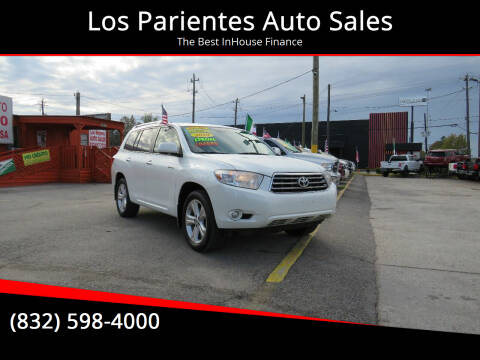 2010 Toyota Highlander for sale at Los Parientes Auto Sales in Houston TX