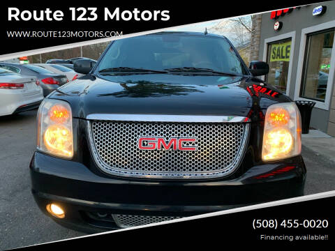 2012 GMC Yukon for sale at Route 123 Motors in Norton MA