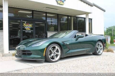 2014 Chevrolet Corvette for sale at Corvette Mike New England in Carver MA