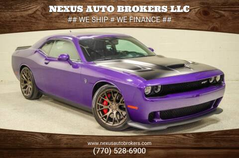 2016 Dodge Challenger for sale at Nexus Auto Brokers LLC in Marietta GA