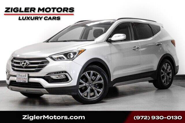 2018 Hyundai Santa Fe Sport for sale at Zigler Motors in Addison TX