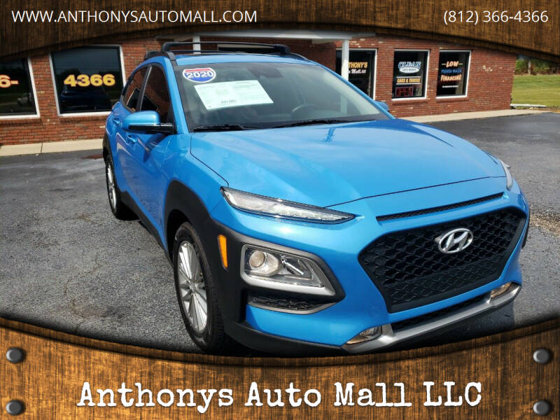 2020 Hyundai Kona for sale at Anthonys Auto Mall LLC in New Salisbury IN