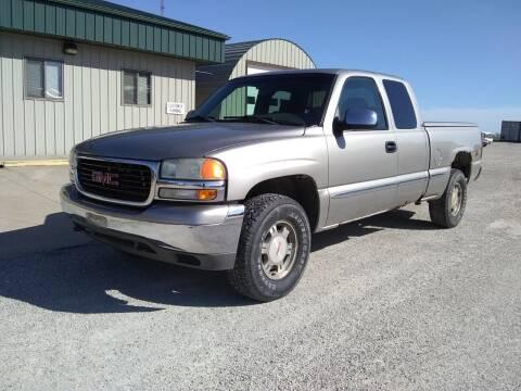 2002 GMC Sierra 1500 for sale at ARK AUTO LLC in Roanoke IL