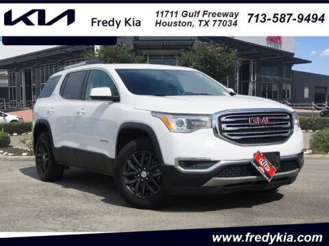 2018 GMC Acadia for sale at FREDY KIA USED CARS in Houston TX
