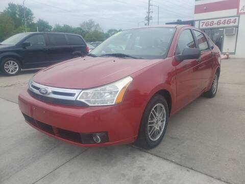 2011 Ford Focus for sale at Quallys Auto Sales in Olathe KS