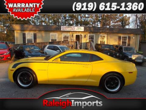 2011 Chevrolet Camaro for sale at Raleigh Imports in Raleigh NC