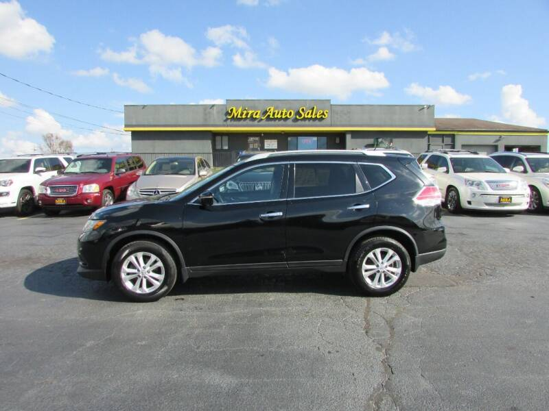 2014 Nissan Rogue for sale at MIRA AUTO SALES in Cincinnati OH